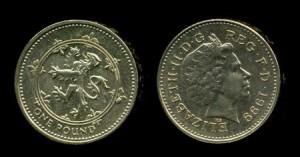 1 фунт 1999 г