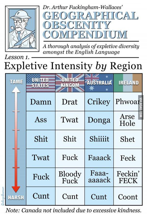 английская обсценная лексика