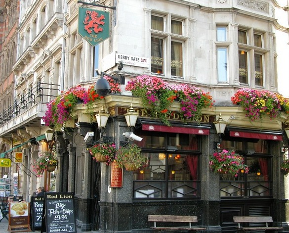 Паб в Лондоне