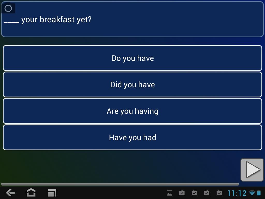 английский на android