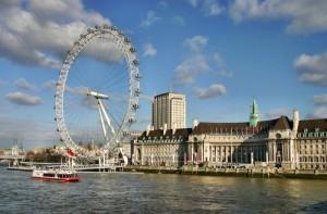 Лондонский глаз ландан ай