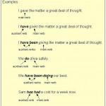 служебные глаголы