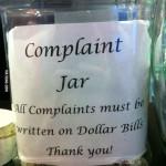 letter of complaint jar