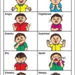 Основные эмоции на английском языке