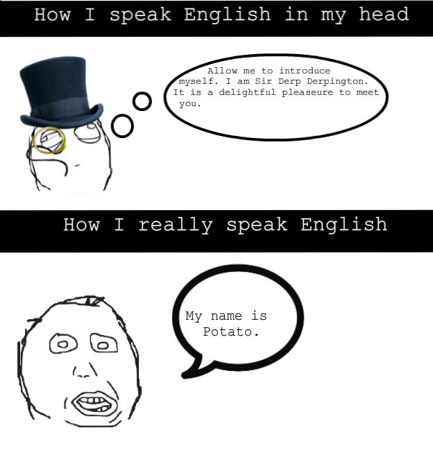 Я говорю по-английски в совершенстве
