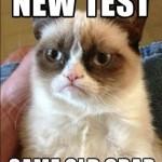 grumpy cat пишет тест