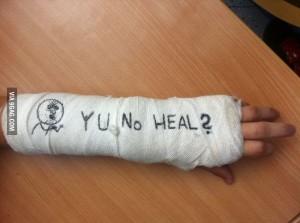 Пример heal