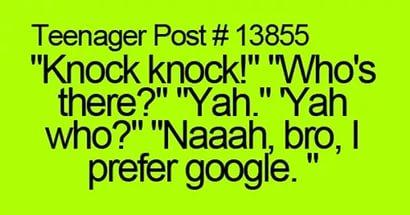 Knock Knock шутка на английском языке