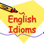 Идиомы на английском языке по темам