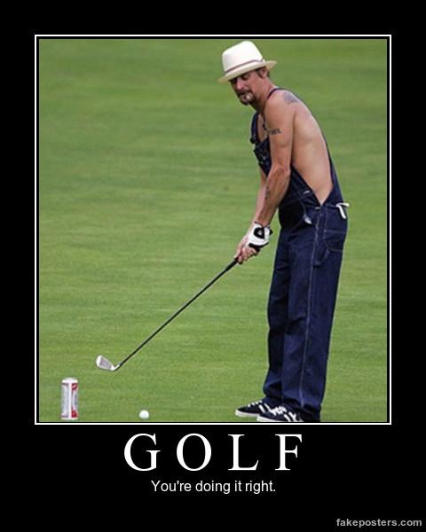 гольф и пиво