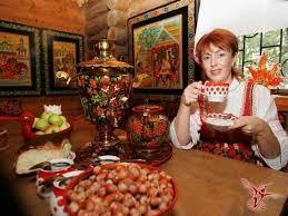гостеприимная русская женщина