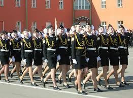 Военные русские девушки