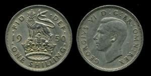 шиллинг 1950г